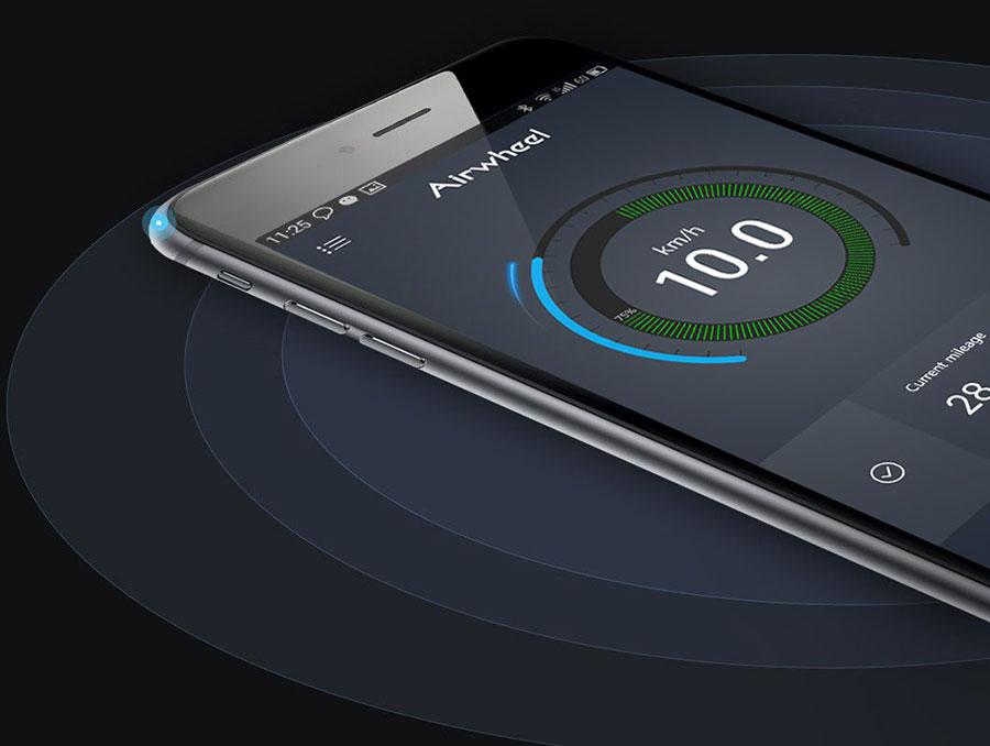 Airwheel Z5 aplicatie smartphone